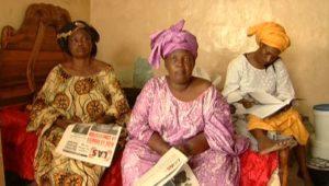 Les Sénégalaises et la Sénégauloise